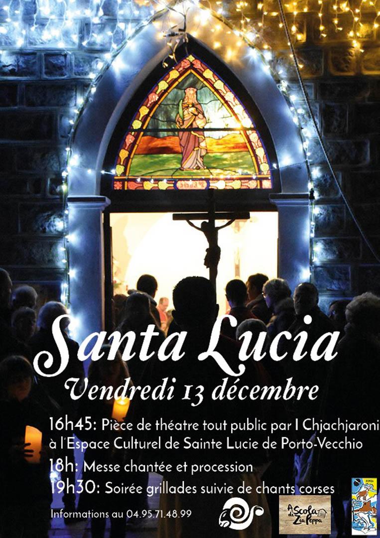 Affiche Santa Lucia 2019 V3